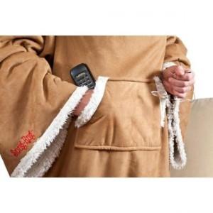 Snug Rug Sherpa har en praktisk ficka